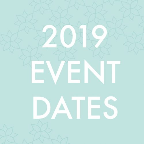 2019 event dates for Latrobe Women in Business